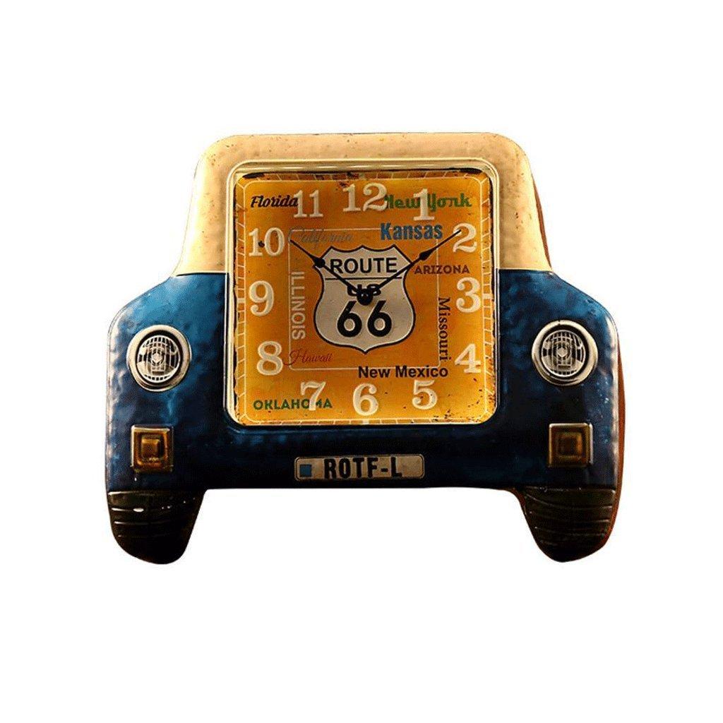 GAOLILI 車のヘッドLEDの壁時計のベッドルームペンダントの装飾的な壁の時計のベッドルームのミュートの壁時計 ( 色 : G(No LED) ) B07CC449HP G(No LED) G(No LED)