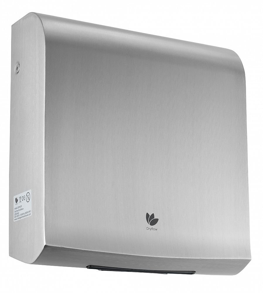 Dryflow® EcoWave Hand Dryer (Satin) Commercial Thin Blade Style Technology