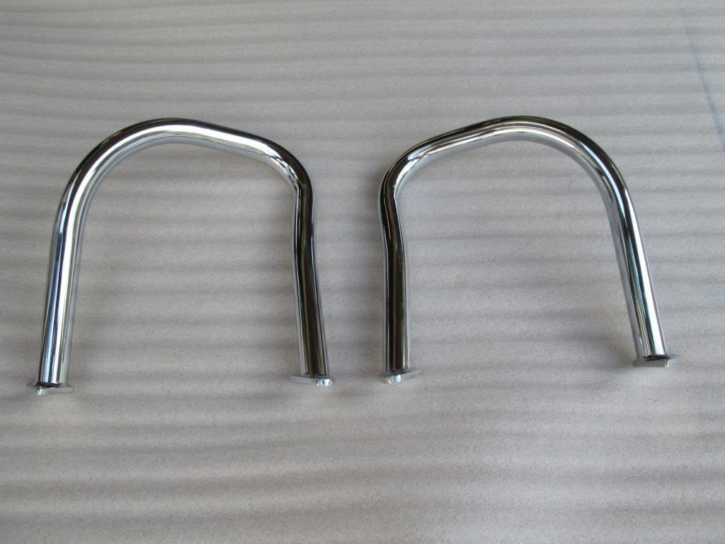 C30 Indian Motorcycle's Rear Highway Bars Chrome Chief/Chieftain 2014-2016