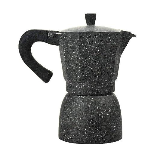 Bac bac - Juego de 6 Tazas de Aluminio para cafetera expreso ...