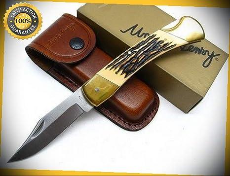 Amazon.com: Uncle Henry Papa Bear - Cuchillo afilado con ...