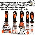 5 Piece Premium,home repair tool kit,home repair tools,multi-use,paint scraper,putty knife,paint scraper set,tools,hand tools