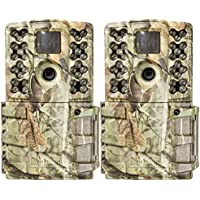 Moultrie A-5 Gen 2 14 MP IR Digital Game Trail Hunting Camera MCG-GM30i (2 Pack)