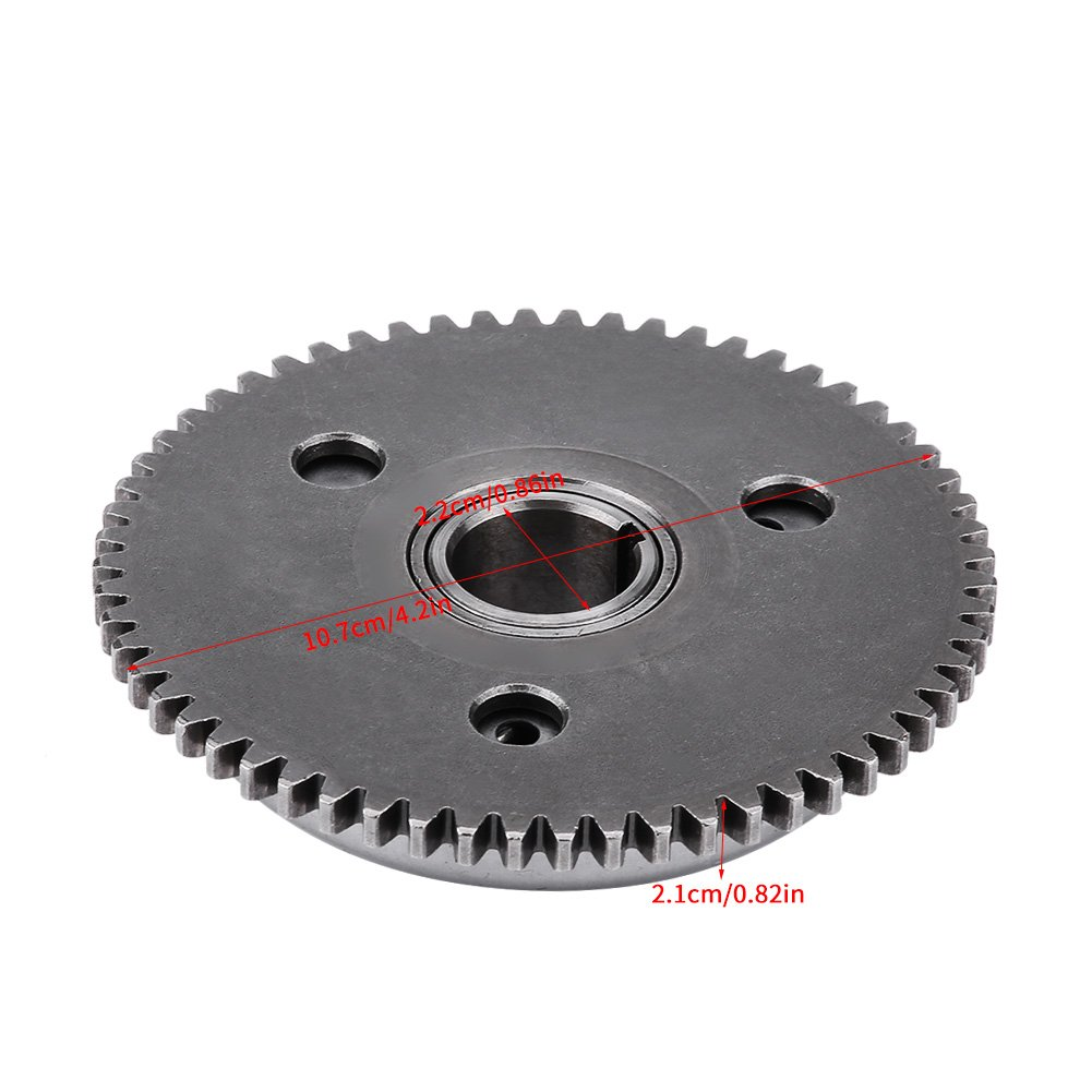 Acouto Primary Starter Drive Sprag Clutch for Scooter Moped GY6//125CC//150CC//152QMI//157QMJ//ATV