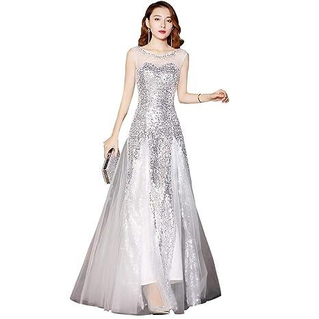 Trajes de boda Vestido De Novia Vestido De Noche Blanco ...