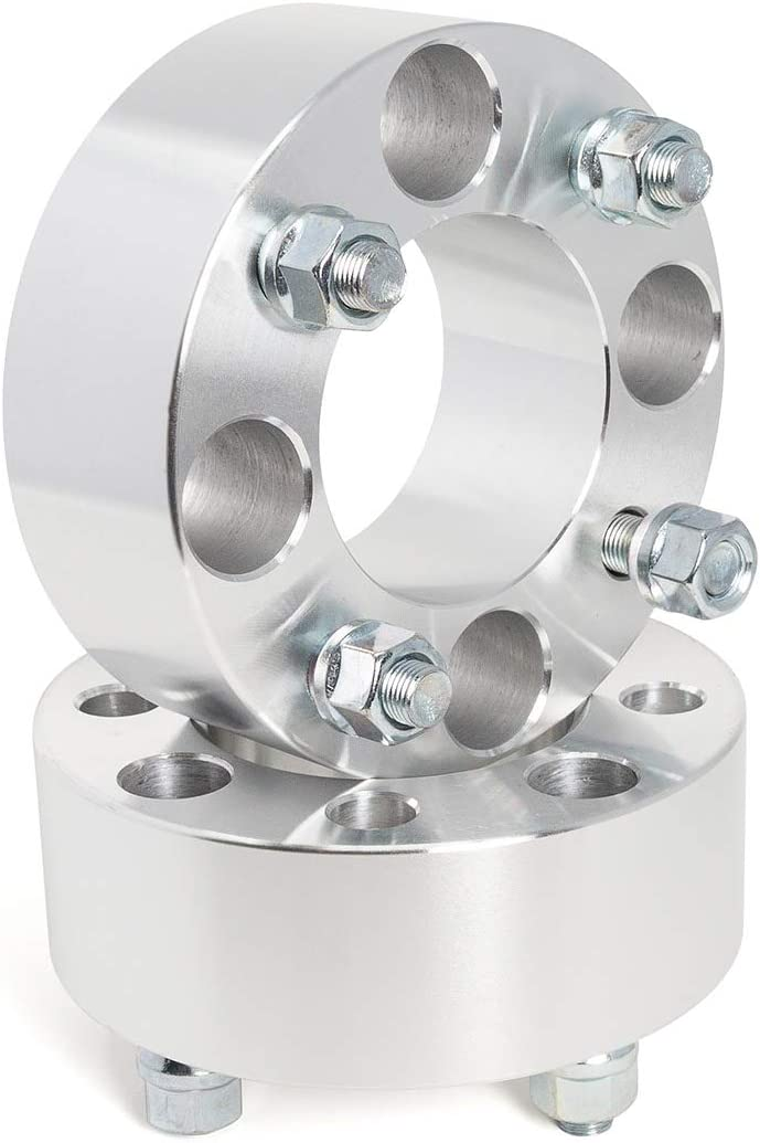 Kimpex Wheel Spacer with Lock Nuts 2in M12 x 1.25mm 4//110 Aluminum Pair