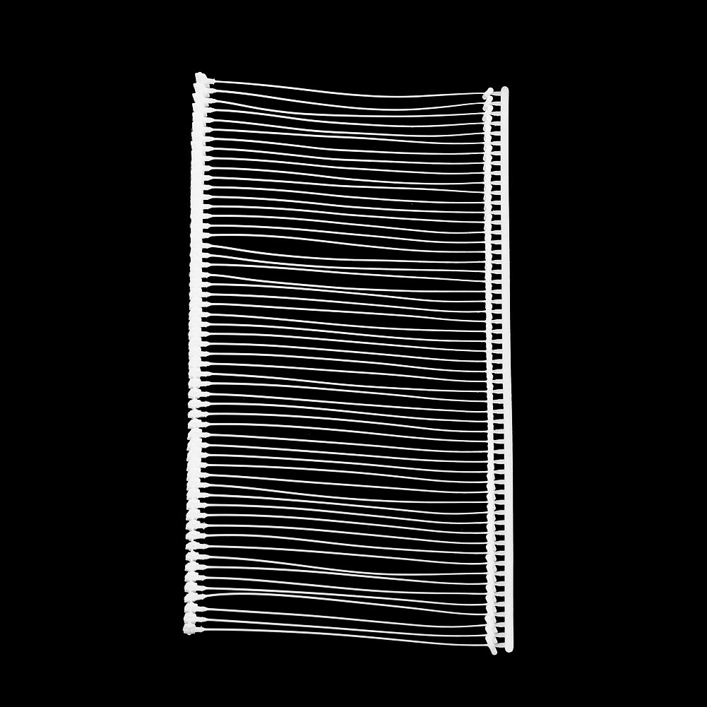 5000pcs 2  Pins de Etiquetas Pesta/ña de Fijaci/ón Est/ántar de Pl/ástico de Tag Pistola Accesorios para Pistolas de Etiqueta Tagging Barbs