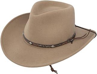 e22f7d8f90dcf Stetson Men s Mountain View Crushable Wool Felt Hat