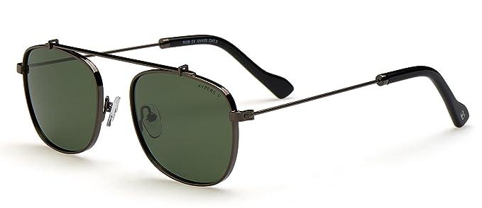 KYPERS Herren Sonnenbrille mehrfarbig Silber und Blau Fdq3pFk1