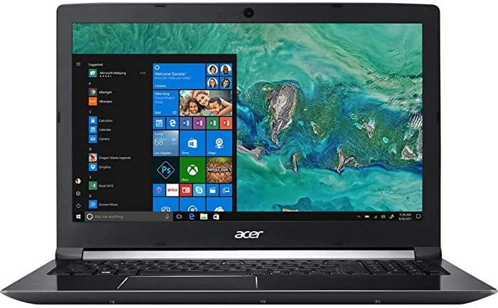 Acer Aspire 7 A715-72G-79BH 15.6-Inch FHD IPS i7-8750H 8GB 1TB GTX 1050 Windows 10