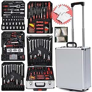 Yaheetech Fabulous 799pcs Mechanic Kit Box Case Toolbox Trolley