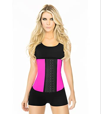 f96c78a72 Ann Chery 2023 3 Hooks Fajas Latex Sport with Caffeine Cream. Waist Trainer  Girdle Faja Colombiana at Amazon Women s Clothing store