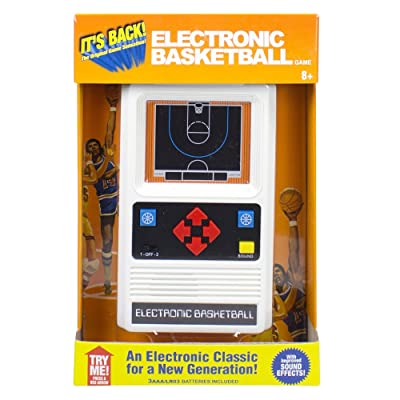 Electronic Retro Sports Game Assortment: Basketball Electronic Games: Toys & Games