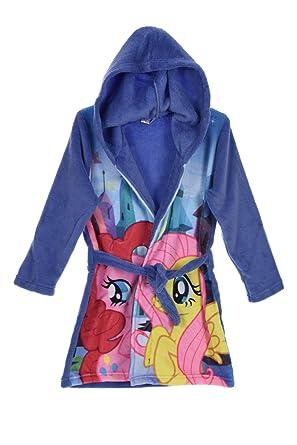Amazon.com: My Little Pony Bathrobe Dressing Gown With Hood (3 years ...