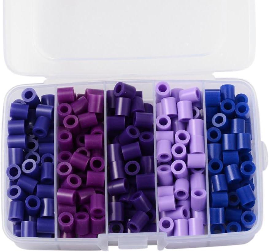 Pandahall 1 caja tubo Melty perlas PE DIY fusible recambios de perlas Hama Beads para niños Craft hacer: Amazon.es: Juguetes y juegos