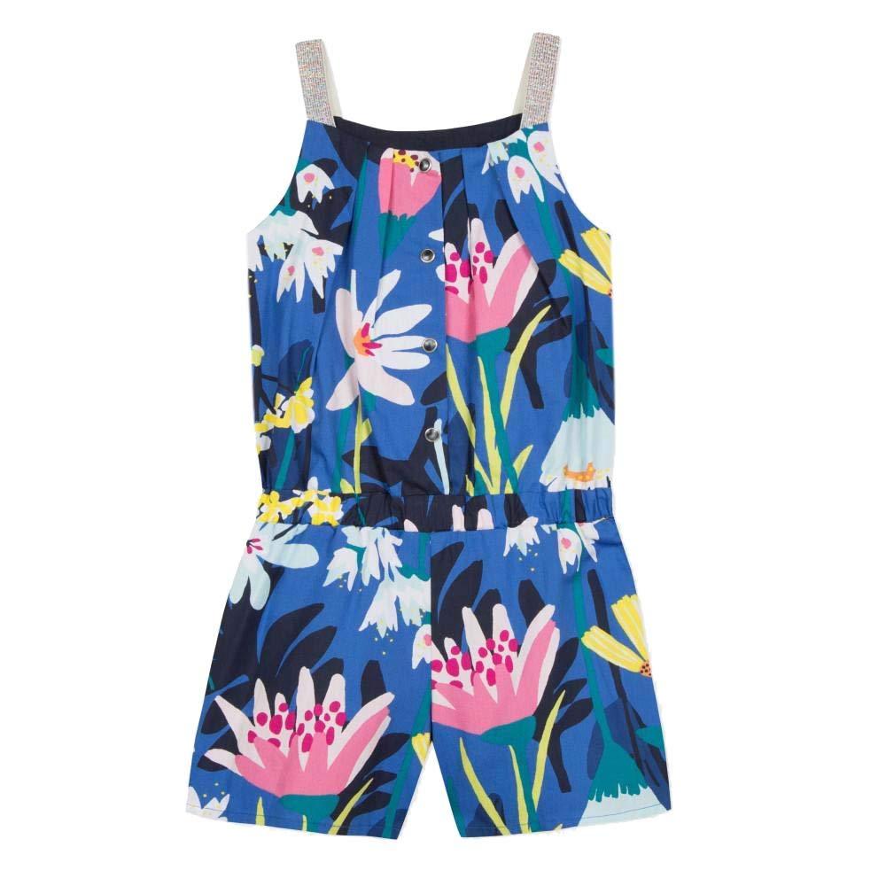 Catimini Girls Beautiful Floral Fantasy Romper//Jumpsuit