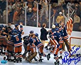 Autograph 119990 1980 USA Olympic Hockey Team Image No. Sc6 Mike Eruzione Autographed 8 x 10 in. Photo