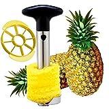 Pineapple Corer Slicer Pineapple Cutter Stainless Steel Peeler Stem Remover Blades for Diced Fruit Rings