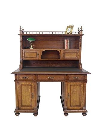 Gründerzeit Schreibtisch Mit Aufsatz Um 1880 Eiche Amazonde Küche