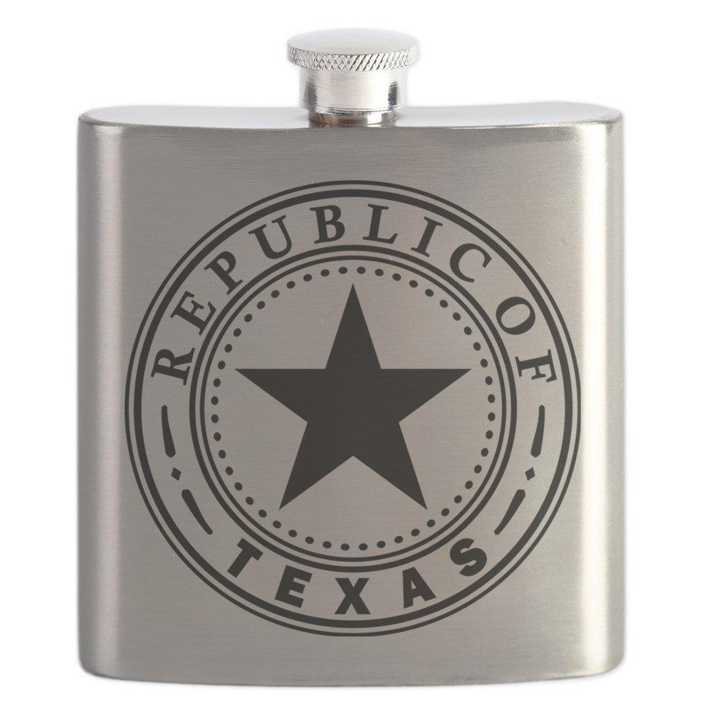 上品なスタイル CafePress – Republic Republic Texas Of Texas – ステンレススチールフラスコ、6オンスDrinkingフラスコ CafePress B01IUG8V24, ヤマガタシ:14cb51fa --- a0267596.xsph.ru