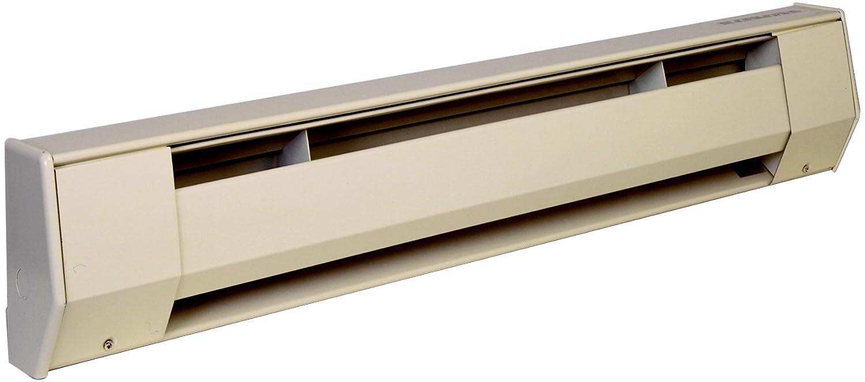 King Electric 2k1205a K 500 Watt 120 Volt 27 Inch Baseboard Heater Wiring 500w 120v Almond