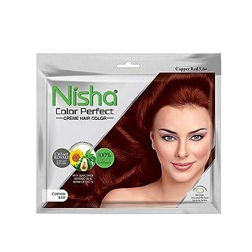 Buy Prem Henna Nisha Color Perfect Cream Hair Color 40 Gm Copper