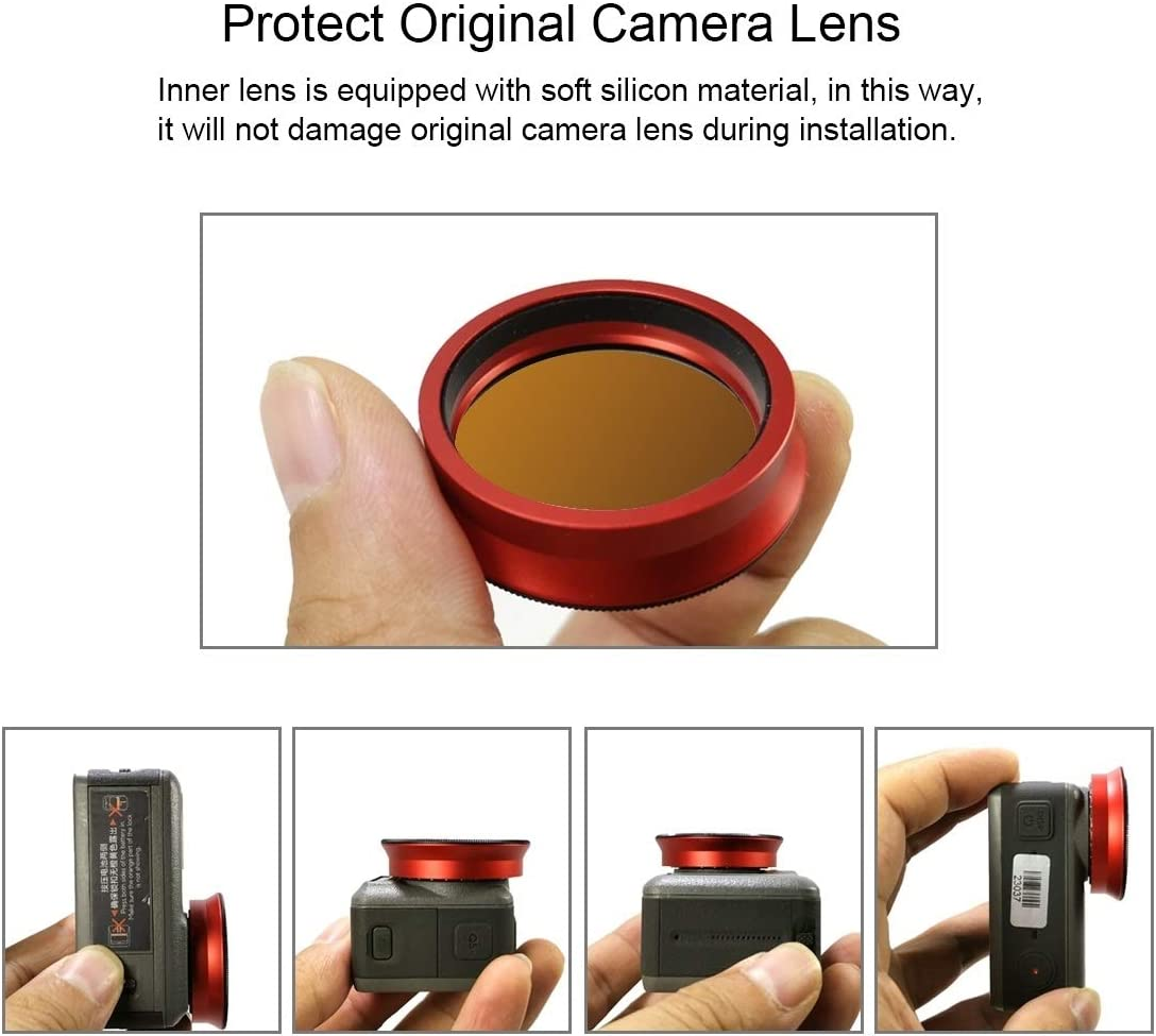GuiPing ND1000 Lens Filter for DJI Osmo Action Durable