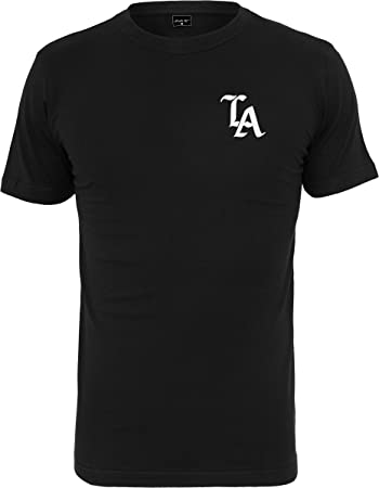 Mister Tee Herren LA T-Shirts, Black, XS