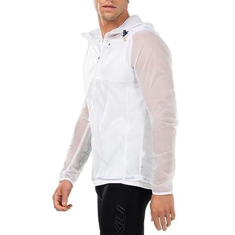 040d31b8 Amazon.com : 2XU Men's GHST Phantom Jacket White/Gold 2XL : Sports ...