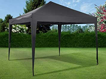 Welp Ambiance Opvouwbare (easy up) partytent antraciet (3Mx3Mx2.8M AU-15