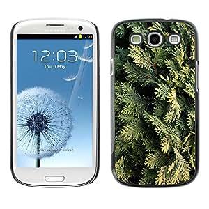 [Neutron-Star] Snap-on Series Teléfono Carcasa Funda Case Caso para Samsung Galaxy S3 [Juniper Hojas Naturaleza Árbol]
