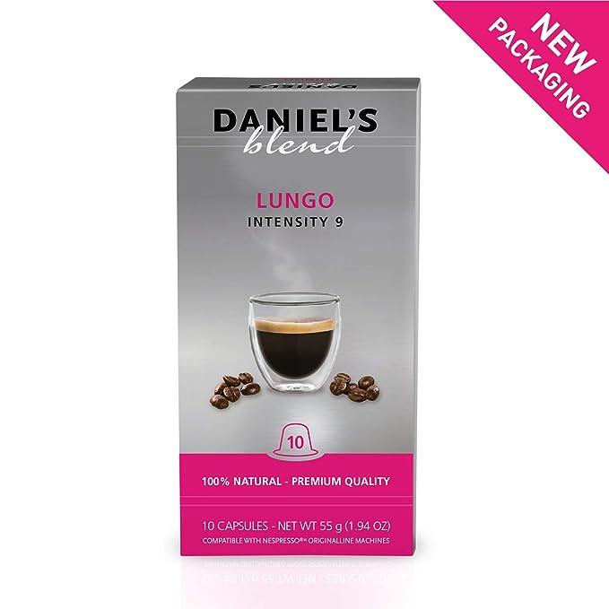 DANIELS BLEND - 100 Cápsulas de Café Compatibles con Máquinas ...