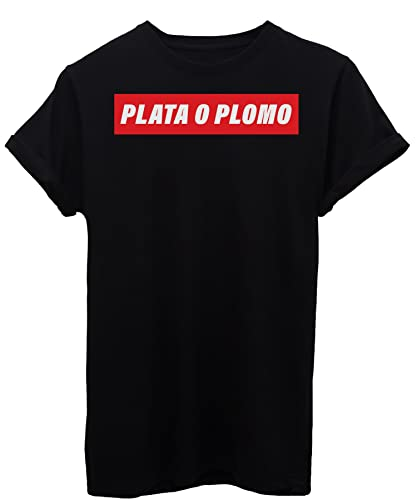 T-Shirt PLATA O PLOMO NARCO - FAMOSI - Maglietta iMage
