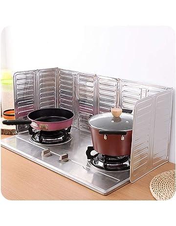 Protector antisalpicaduras para cocina, olla, sartén y salpicaduras