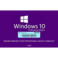 Genuine Windows 10 Professional 32/64bit - 1 License Key + OS Download- #Same Day Delivery
