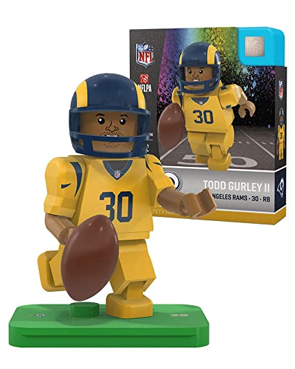 Todd Gurley Color Rush OYO Sports Toys L.A. Los Angeles Rams Generation 4  G4 Minifigure 5ad0f11f4
