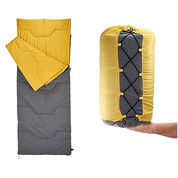 Sleepling bag CAICOLOR Saco de dormir para acampar, senderismo saco de dormir compacto, puertas