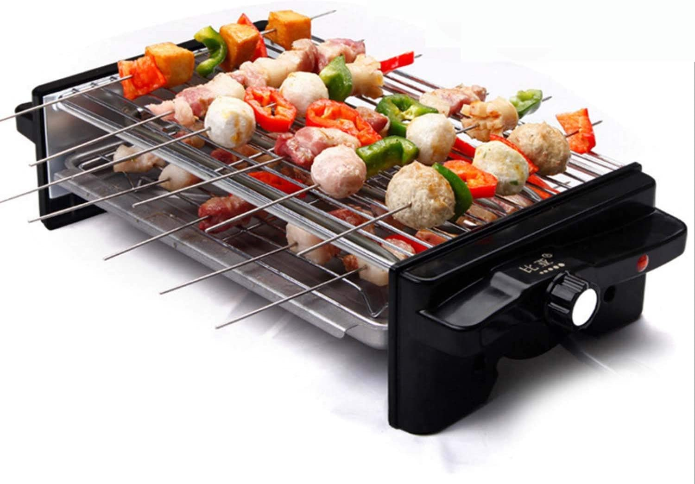 WJJJ Coreano BBQ Hogar Horno de Barbacoa eléctrico para no Fumadores Pan Antiadherente Máquina de Barbacoa Máquina de Barbacoa de Doble Capa Parrilla de Cocina