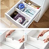 GBEX Adjustable Drawer Dividers Organizer, for Kitchenware, Clothes, Office Supplies