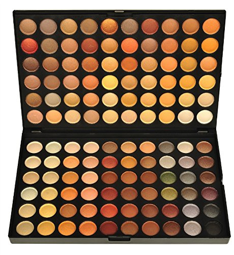 BLUETTEK 120 Color Eyeshadow Makeup Palette - Matte Earth Tone Series (# 4 Color) (120 Full Color Palette)