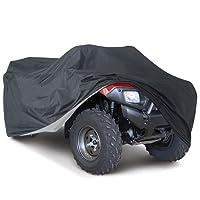 NOVSIGHT Housse/Bâche Protection pour Moto Quad ATV Extérieure Etanche Anti -UV XL Noir