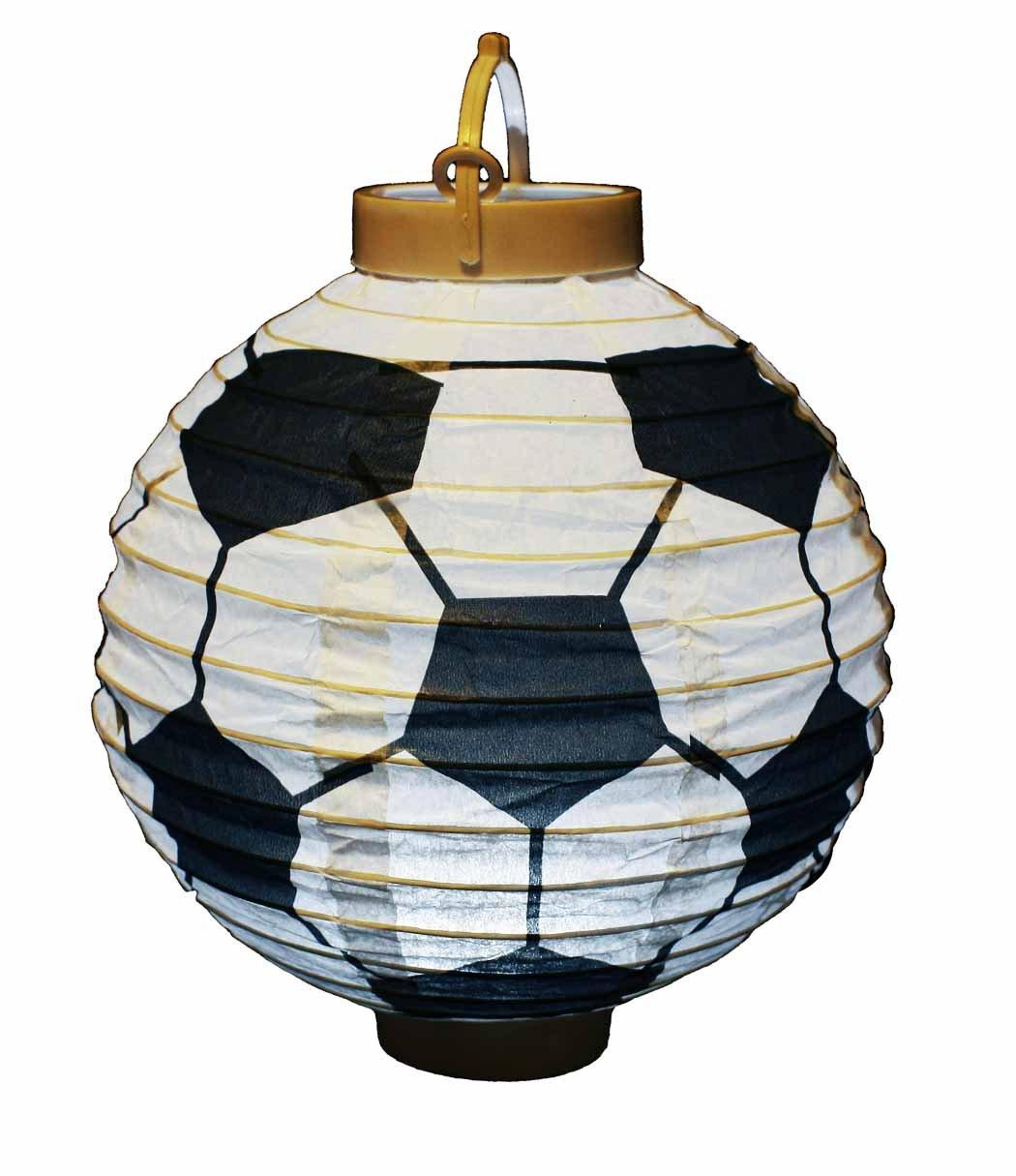 Esfera de luz led decorada como balón de fútbol, Eurocopa 2016 ...