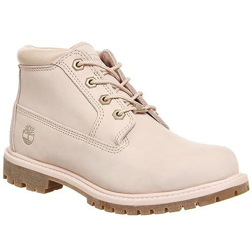 Verkauf Damen Schuhe Timberland Winter Stiefel rosa cameo