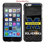 download ebook iphone 6 plus 6s plus case,michigan wolverines 32 drop protection never fade anti slip scratchproof black hard plastic case 5.5inch pdf epub
