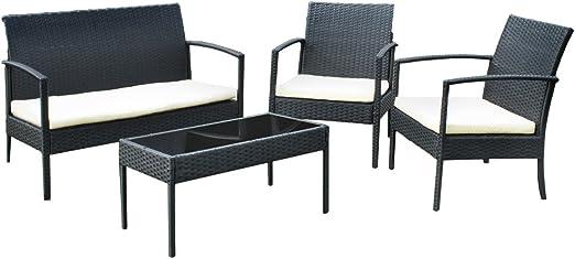 Juego de muebles de jardín Liquidación Jardín (ratán sintético Muebles # 3381: Amazon.es: Jardín