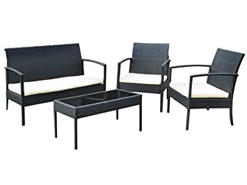Rattan lounge ausverkauf  Amazon.de: Gartenmöbel AUSVERKAUF Gartenset Poly Rattan Lounge ...