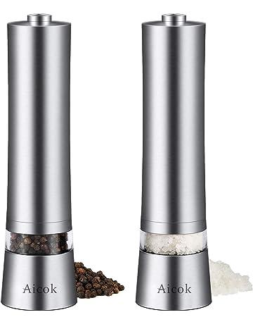 Kuhn Rikon ajustable à cliquet Meuleuse avec Céramique Mécanisme pour sel poivre un