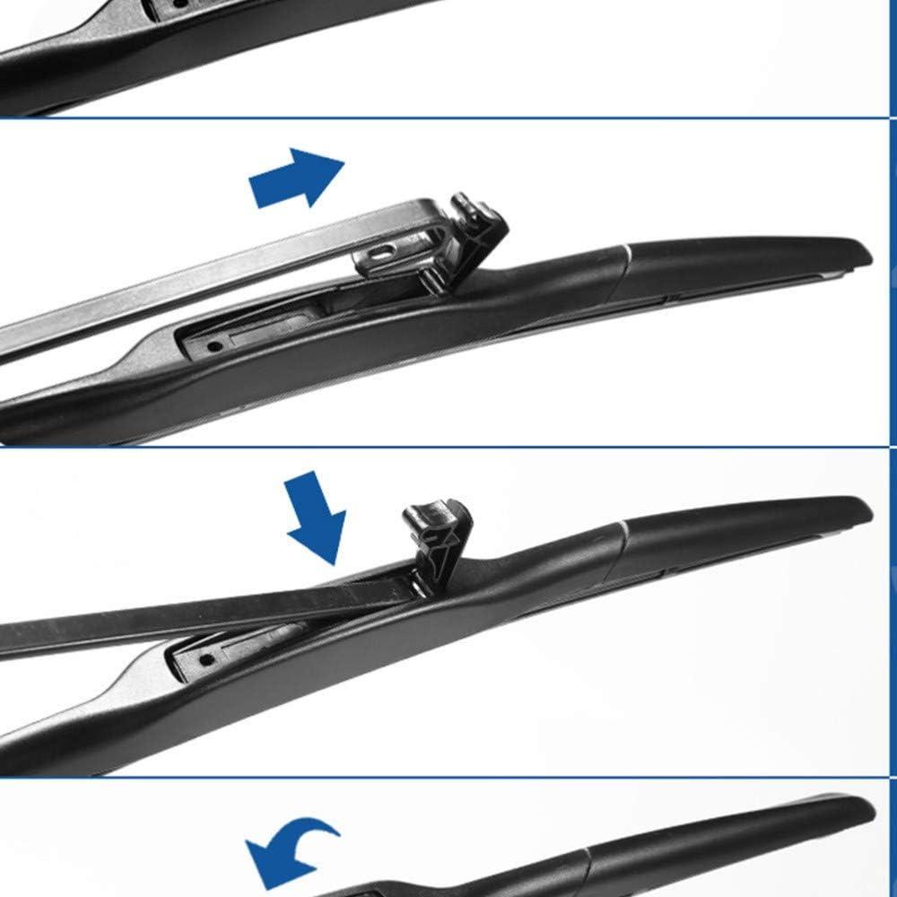 JIRENSHU Bras dessuie-Glace /à Ajustement lat/éral pour Mercedes-Benz GLK Classe X204///GLK 200 220 250 280 300 320 350 CDI
