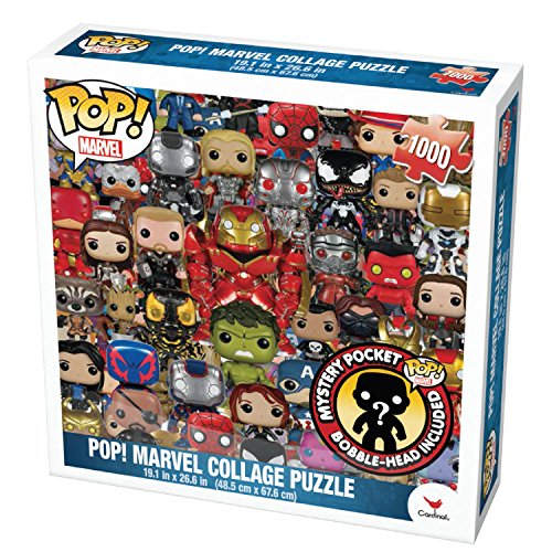 Cardinal Marvel Funko Puzzle with Figure