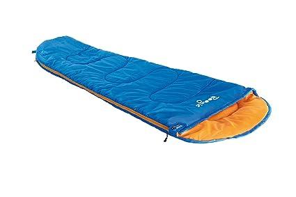 High Peak Boogie Saco de Dormir, Infantil, Azul/Naranja, 170 x 70